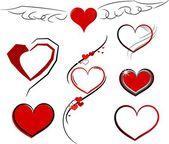 Vector heart — Wektor stockowy