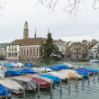 Stock Photo: Historical center of Zurich, Switzerland.