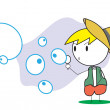 Kid bubble — Stock Vector #12155436