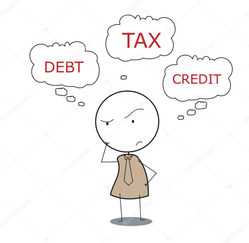 Businessman tax  Stock Vector #12155195