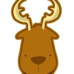 Deer vector — Stock Vector
