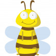 Funny bee — Stock Vector