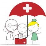 Health insurance — Stock Vector