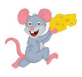 Mouse cartoon — Stock Vector