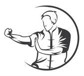 Martial Art — Stock Vector