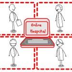 Doctor Team Hospital Online — Stock Vector #9737849