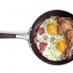 Fried eggs — Stock Photo #26276775