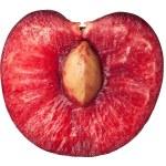 Half of ripe, juicy cherry — Stock Photo #27772681