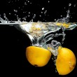 Parts of lemon — Stock Photo