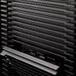 Black computer box — Stock Photo