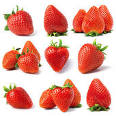 Set from strawberry — Stock Photo