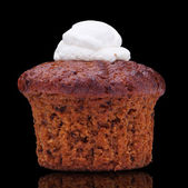 Carrot cake-muffin — Stock Photo