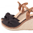 Wedge Sandals isolated on whit — Foto de Stock