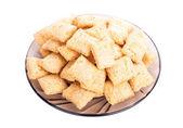 Cookie na białym tle — Zdjęcie stockowe