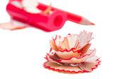 赤鉛筆削り — ストック写真
