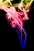 Abstract color smoke — Stock Photo