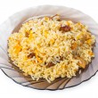 Caucasian traditional pilaf — Stock Photo