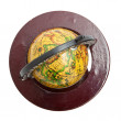 Old styled globe — Foto de Stock