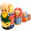 Fable styled matryoshkas — Stock Photo
