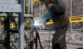 Metal de soldadura soldador — Foto de Stock