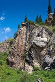 Rock landscape — Stock Photo
