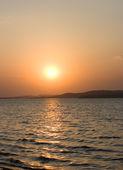 Vacker solnedgång — Stockfoto