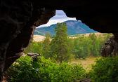 Kazakhstan Karkaraly landscape — Stock Photo