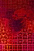 Czerwone opakowanie filmu — Zdjęcie stockowe