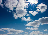 Sky with clouds — Foto de Stock