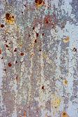 Velho metal pintado — Fotografia Stock