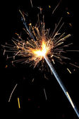 New Year sparkler — Stock Photo