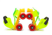 Colorful rollerskate — Stock Photo