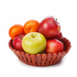 Bowl with fruits — Stock Photo #38961721