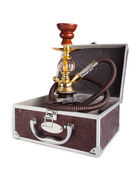 Hookah in the suitcase — Foto Stock