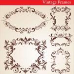 Vintage Frames — Stock Vector #6038501
