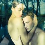 sensual pareja — Foto de Stock