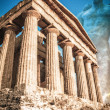 Temple of Concordia, Temple Valley, Sicily - Stock Photo