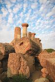 Vallei van de tempels, agrigento, Italië — Stockfoto