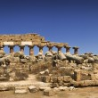 Valle dei Templi, temple ruins, Agrigento, Italy — Stock Photo