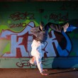 Hip-hop dancer — Stockfoto