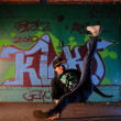Hip-hop dancer — Stock Photo #12460055