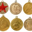 Old soviet rare medals(copy) — Stock Photo #12714524