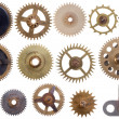 Cogwheels set - Stock Photo