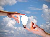 人类的能源 — 图库照片