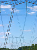 Electrical network — Stock Photo