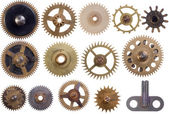 Cogwheels set — Stock Photo