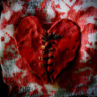 Stock Photo: Bloody heart