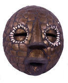 African ritual mask from Nigeria — Stock Photo