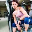 Gym girl - Stock Photo