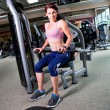 Stock Photo: Gym girl